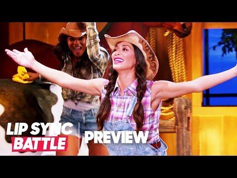 "Nicole Scherzinger Performs ""Man! I Feel Like a Woman"" for Shania Twain Tribute | Lip Sync Battle"