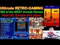 5 Stars - Retro Gaming at its finest! 999 games, two joysticks, dirt cheap!