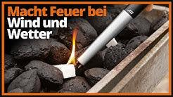 Macht Feuer bei Wind und Wetter - ELV Lichtbogen-Stabfeuerzeug