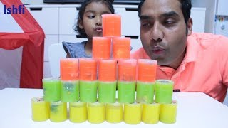 Daddy & Ishfi Play and Learn colors with Slime