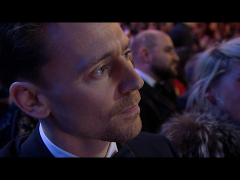 Tom Hiddleston at The British Academy Film Awards 2017 [HD]