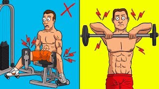 Top 10 Exercises - 10 Exercises All Men Should AVOID!