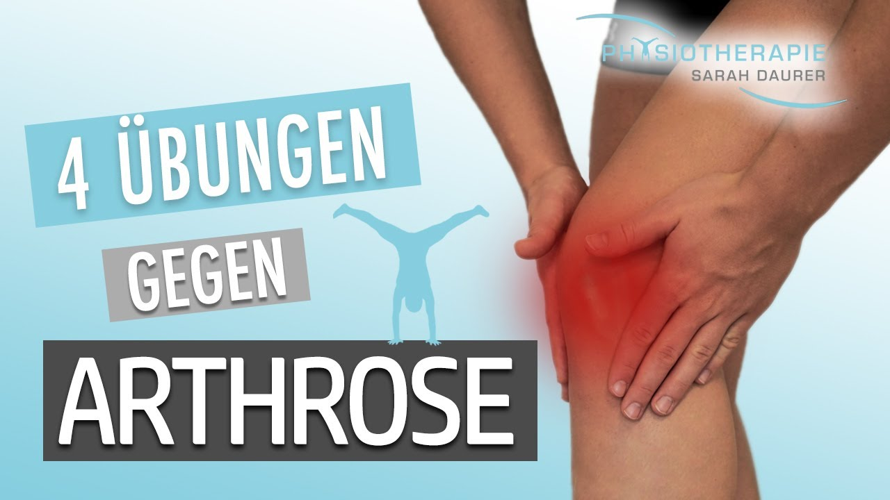 4 Übungen gegen Arthrose im Kniegelenk - Sarah Daurer