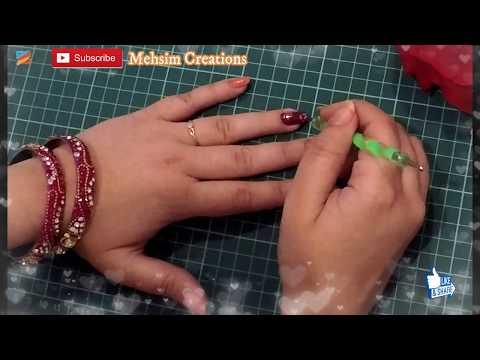 Dotting Tool Nail Art Tutorial | Peach and Maroon nail Polish | DIY Easy Nails.... thumbnail