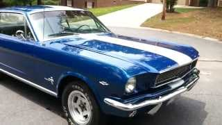 mustang 1966 video by  roman