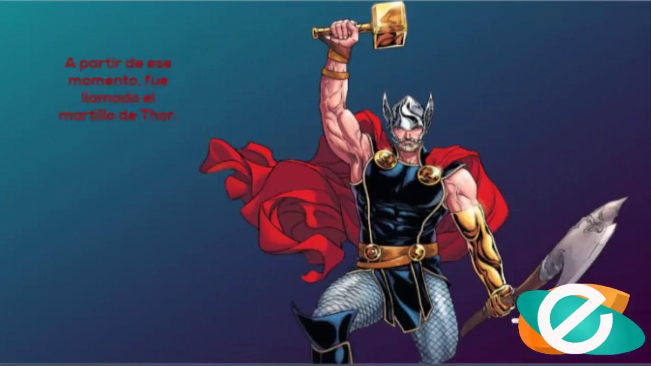 Mitos Y Leyendas Cortas El Martillo De Thor