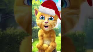 القط المتكلم جينجر ٢ يأكل الطعام يا أصدقائي Talking Ginger 2 screenshot 2