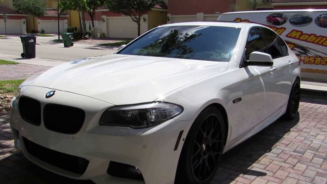 2012 bmw 550i 580hp active autowerke by advanced detailing of south florida