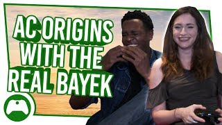 Let's Play Assassin's Creed Origins With The Real Bayek! | Is Lydia A Worthy Assassin