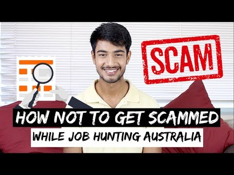 How To Get JOB And Not Get SCAMMED In Australia | Student & Backpacker