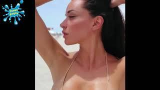 КРАСИВАЯ ДЕВУШКА ОТДЫХАЕТ НА ПЛЯЖЕ ⚫ BEAUTIFUL GIRL RESTING ON THE BEACH