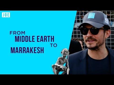 Marrakesh like never before: Snakes, Orlando Bloom and the future of motor racing; Formula E