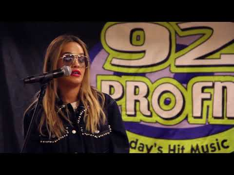 Rita Ora EXCLUSIVE Interview with 92ProFM - FULL INTERVIEW