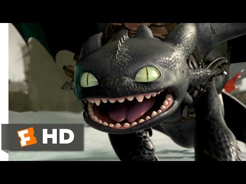 How To Train Your Dragon 2 (2014) - Evil Toothless Scene (7/10) | Movieclips