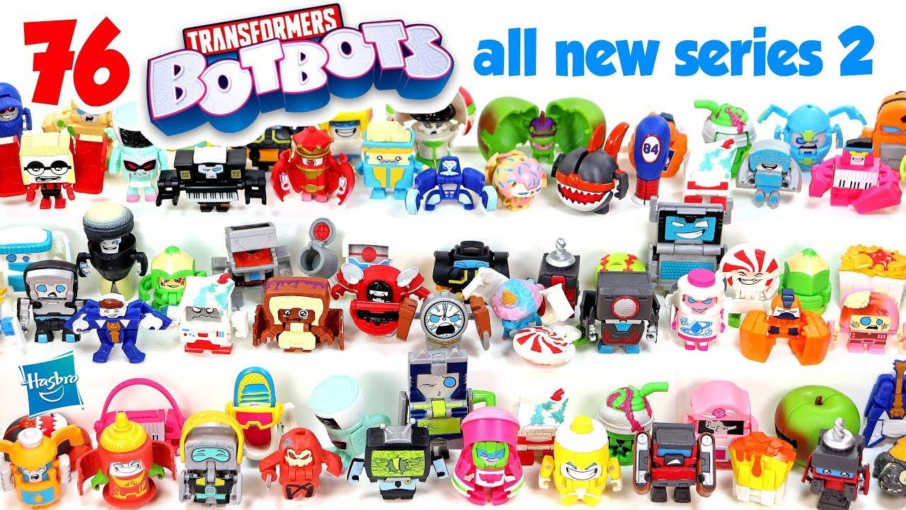 Transformers BOTBOTS Series 2 LOVE STRUCK Lost Bots Team