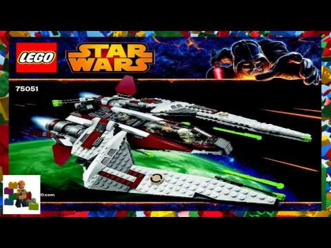 LEGO Instructions - Star Wars - 75051 - Jedi Scout Fighter