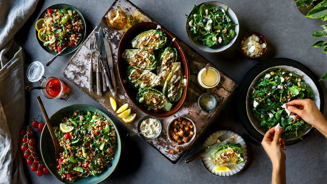 An easy guide to EPIC salads » + 3 recipes