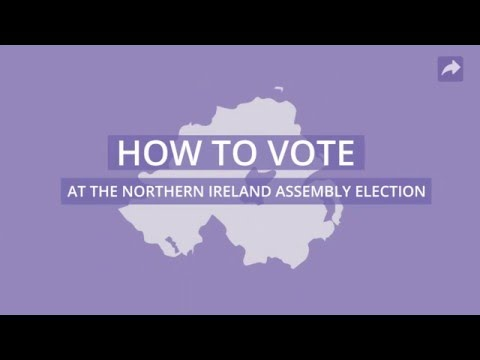 How to vote at the Northern Ireland Assembly election on Thursday 5 May