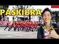 Orang Korea Kaget Lihat PASKIBRA di SMK SUMATRA 40 BANDUNG INDONESIA