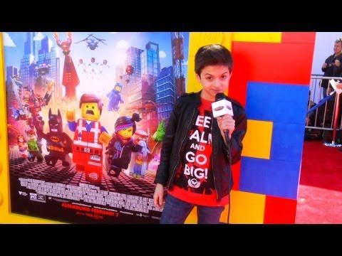 The Lego Movie Red Carpet