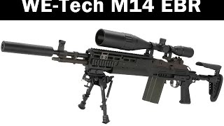WE M14 EBR airsoft gun Review
