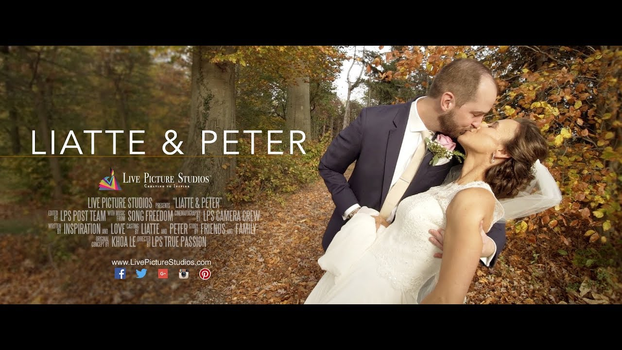 Liatte and Peter – Wedding Highlight at The Ryland Inn in Whitehouse ...