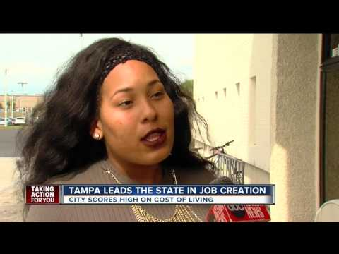 WFTS coverage of Tampa's Cost of Living Index