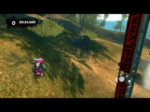 Trials Evolution: Gold Ed. Gameplay (Joe Dominates Downhill)