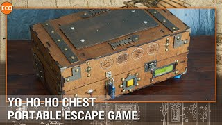 Yo-ho-ho chest - Portable escape game.