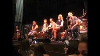 r5 vip soundcheck entire thing r5 heart made up on you tour atlanta