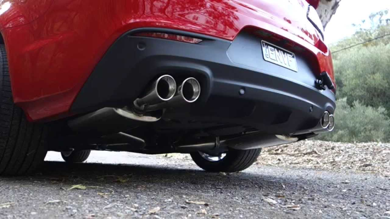VF SSV Redline Exhaust