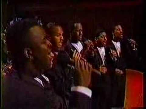 Take 6 LIVE - Bless This House - 1991