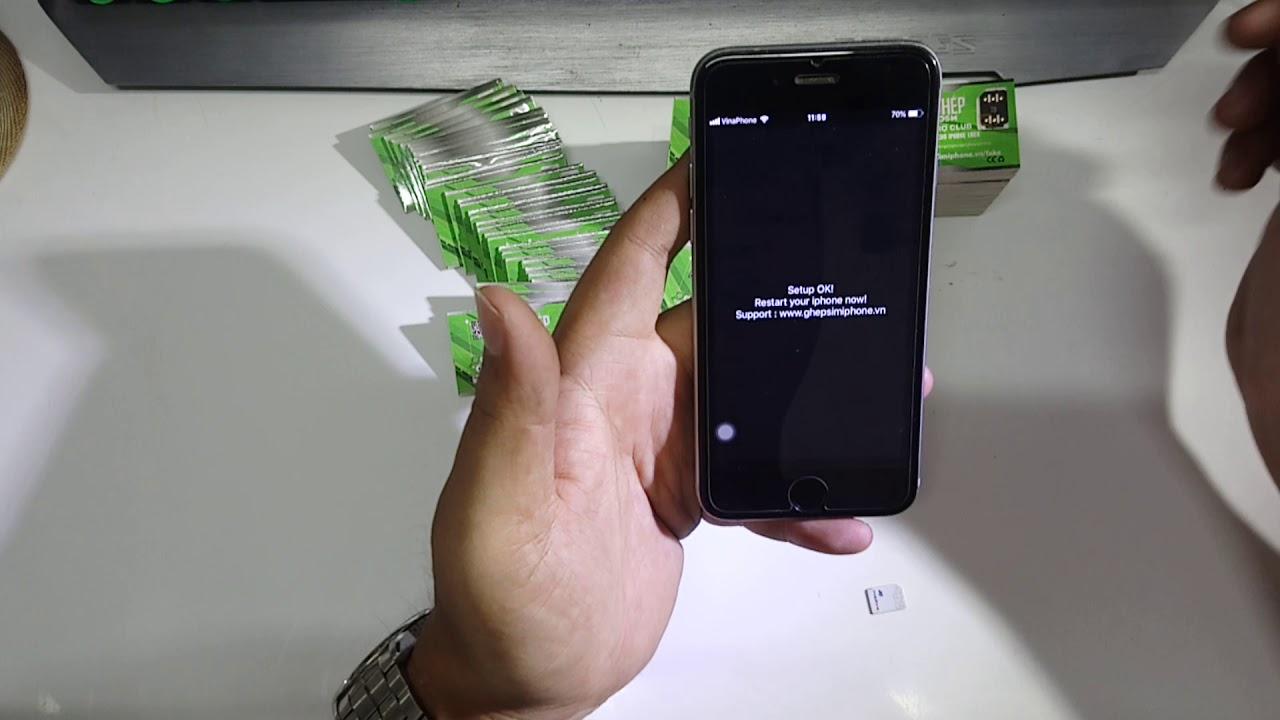 ClubGsm Sim Thần Thánh - Sim Ghép ICCID Tốt Nhất Cho iPhone Lock