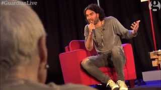 Russell Brand on revolution, democracy and Vivienne Westwood | Guardian Live