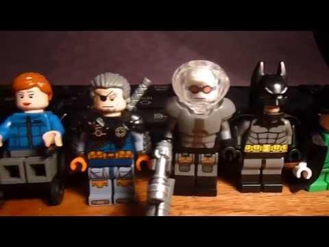 Custom Lego DC Comics Minifigures (Batman Villains Mostly)