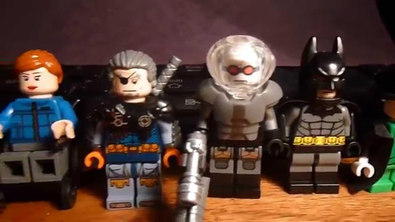 Custom Lego DC Comics Minifigures (Batman Villains Mostly