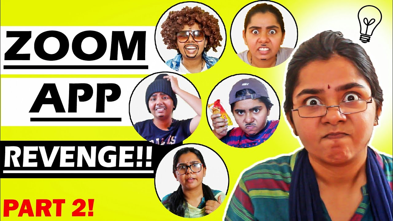 Online class (Zoom app - Kodumaigal) during lockdown   Part 2   Tamil comedy 2020   Simply sruthi