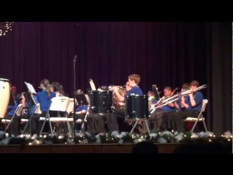 Florence Middle School Band - Katie on Saxophone