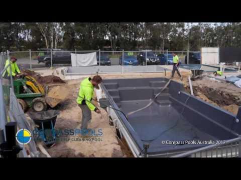 Compass Pools Australia Beach Installation