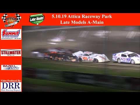 5.10.19 Attica Raceway Park American Ethanol Late Models A-Main