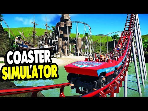 GIANT Coaster Building Simulator & Park Management Game | Danktastic Park | Planet Coaster Gameplay