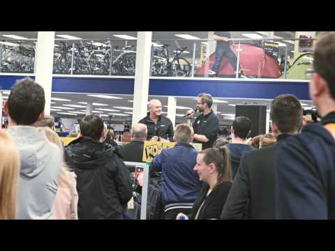 GO Outdoors Liverpool Grand Opening Video