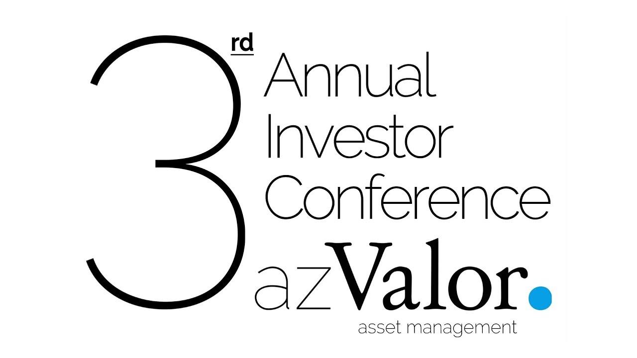 Image result for azvalor 3 conferencia anual de inversores youtube