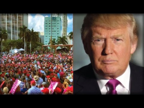 TRUMP TSUNAMI INCOMING: WHAT TRUMP DID IN FLORIDA TODAY WILL MAKE HIM PRESIDENT!