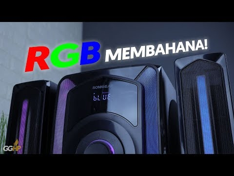Review SonicGear EVO11, Speaker Aktif Dengan RGB Light!
