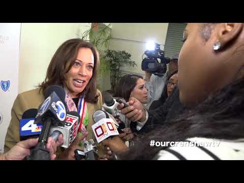 Kingdom Day Parade Breakfast with the Honorable Kamala Harris at Baldwin Hills Crenshaw