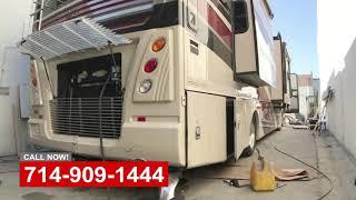 RV Damage Repair Shop Orange County California