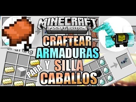 Craftear Sillas De Montar Y Armadura Para Caballos Mod Minecraft