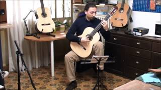 """Alessio Olivieri - Dowland's theme from """"Nocturnal op.70"""" (spurce top guitar)"""