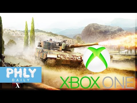 XBOX Care Package From War Thunder! (War Thunder Xbox One X Gameplay)